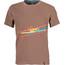 La Sportiva M's Stripe 2.0 T-Shirt Falcon Brown